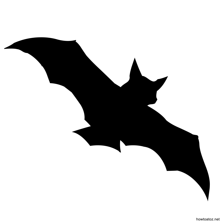 Halloween Bat Stencils Printable Halloween Decorations