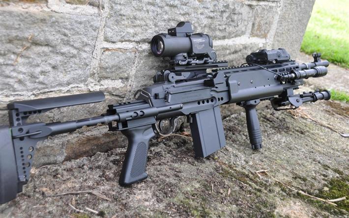 Download wallpapers Mk 14, Enhanced Battle Rifle, M14, EBR, MK14