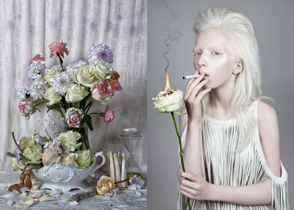 Wild Flower by Danil Golovkin, via Behance