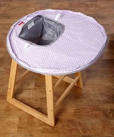 Loving This Lavender Gray Neatnik Saucer High Chair Cover On