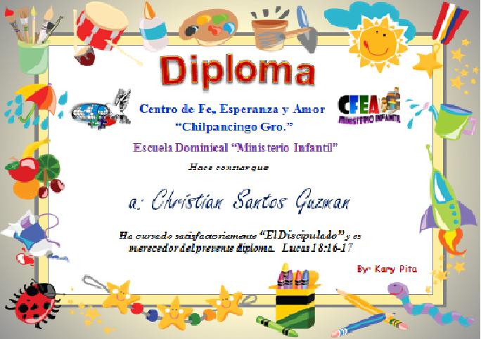 Plantilla De Diplomas En Power Point Imagui Foto Pinterest
