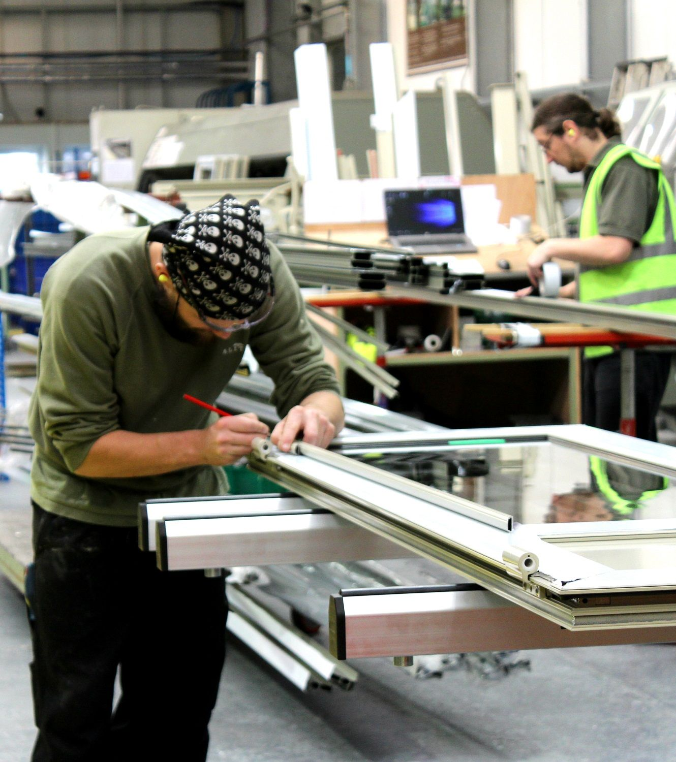 British manufacturing workers