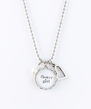 Look what I found on #zulily! Silver 'Flower Girl' Necklace by Jennifer Dahl Designs #zulilyfinds
