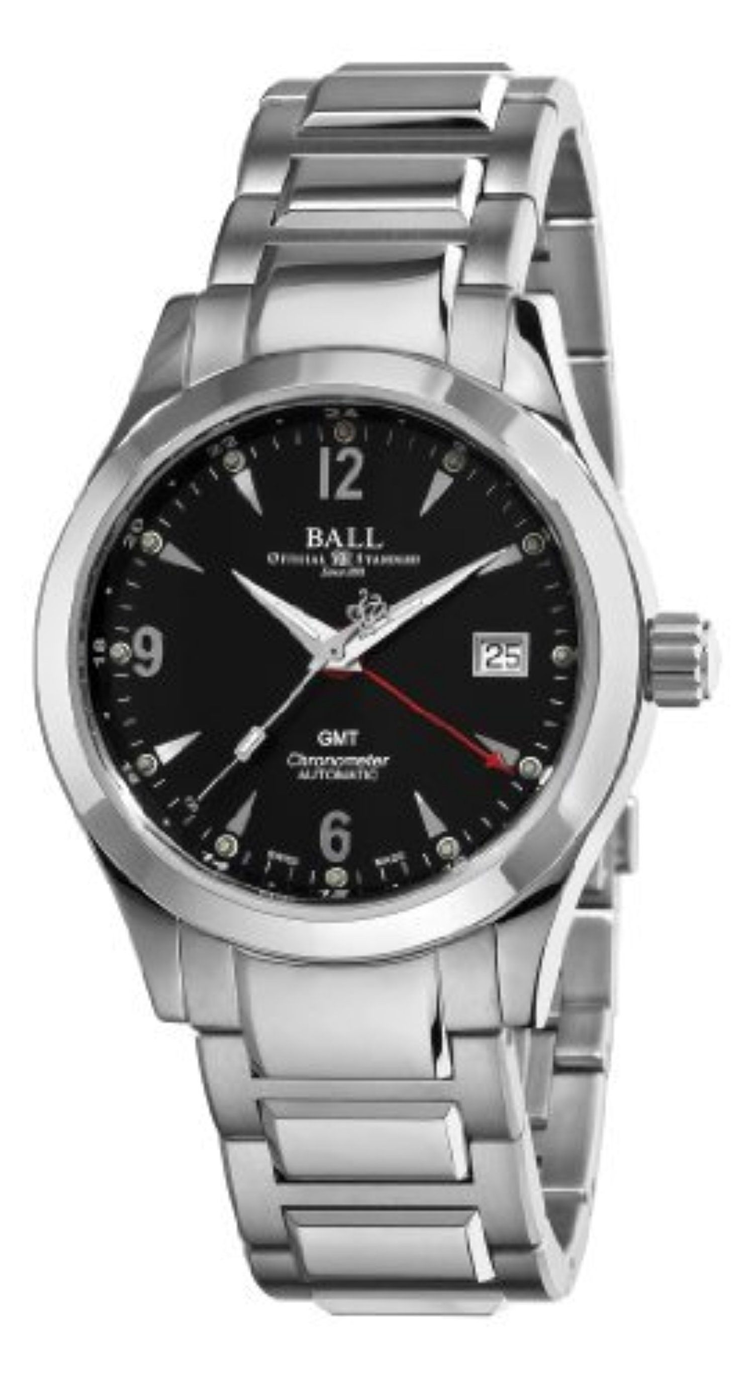 Ball Men's GM1032C-S2CJ-BK Engineer II Ohio Black GMT Dial Watch by Ball -- Awesome products selected by Anna Churchill