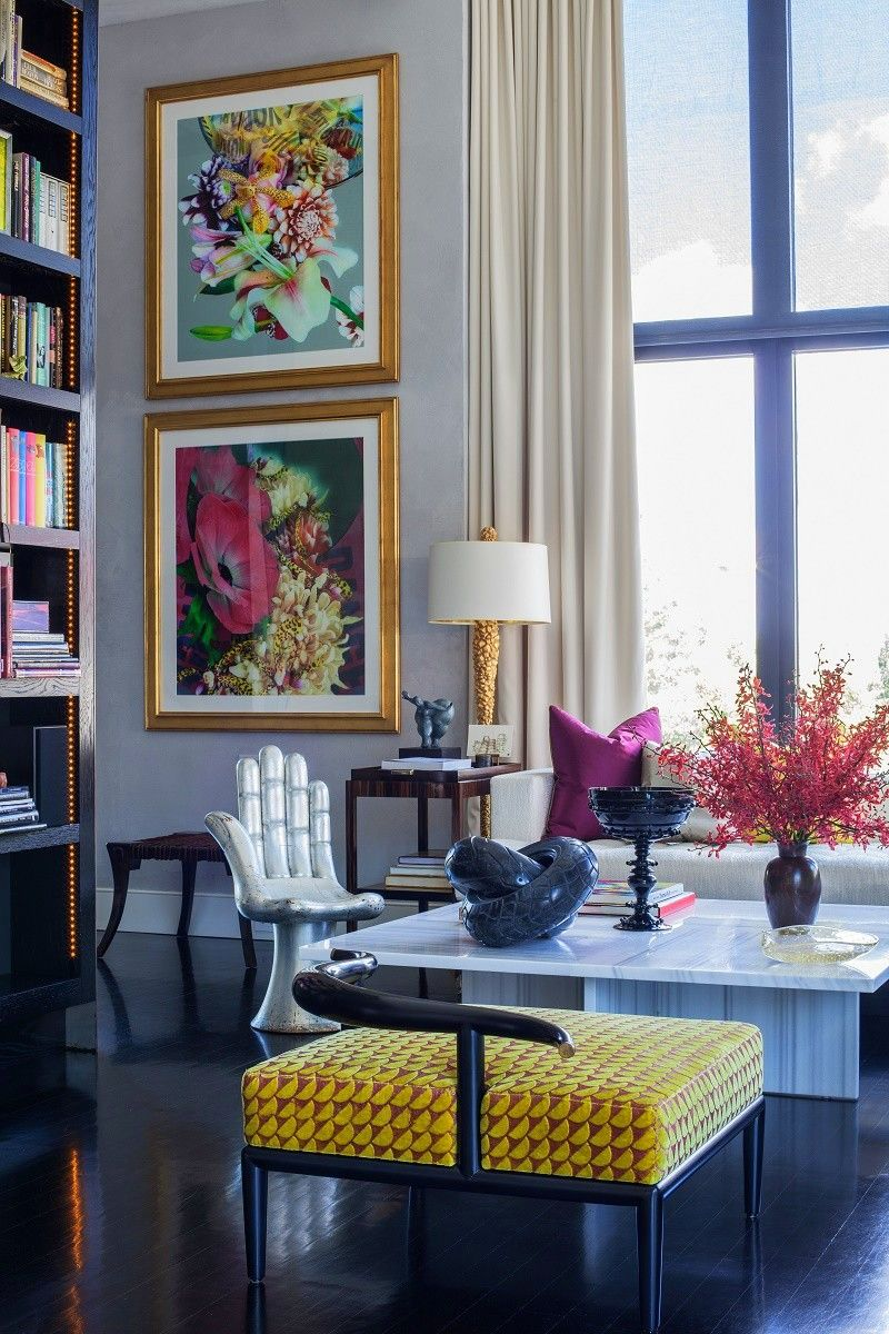Jamie Drake jamie drake's ultra chic west chelsea apartment | interior design