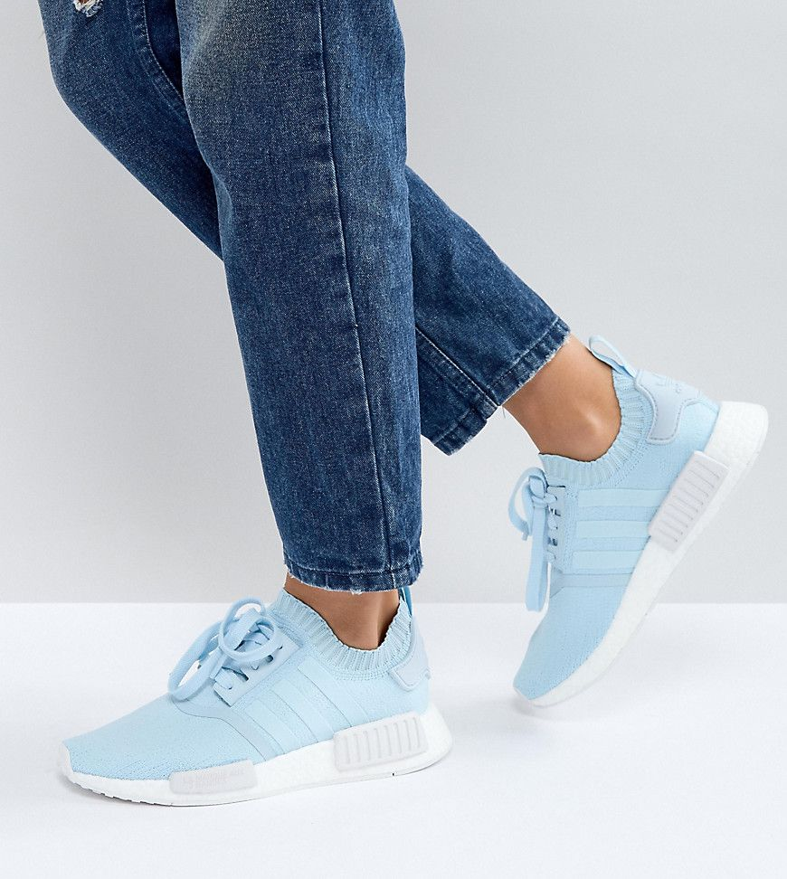 adidas Originals NMD NMD NMD R Sneaker In Pale Blue Blue 809c58