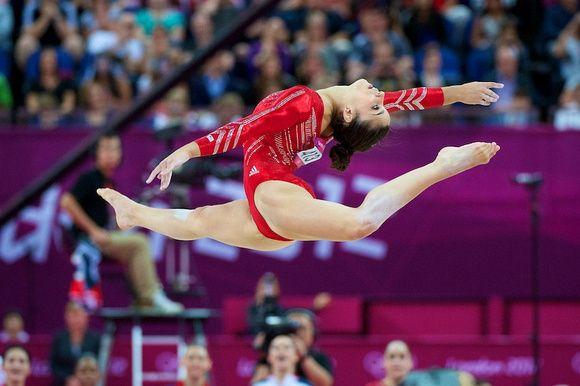 Aly Raisman Floor Routine Of A Lifetime Gymnastics