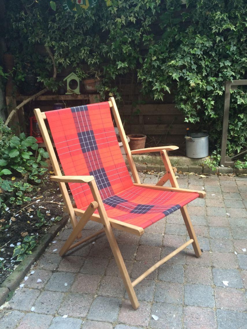 Fauteuil de jardin pliable Vintage | Jardin Vintage ...