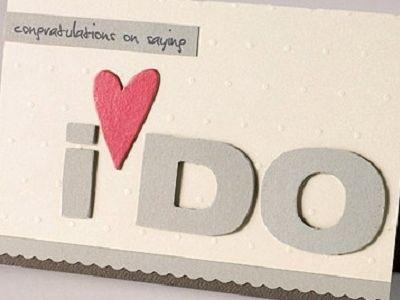 4 DIY Wedding Card Ideas