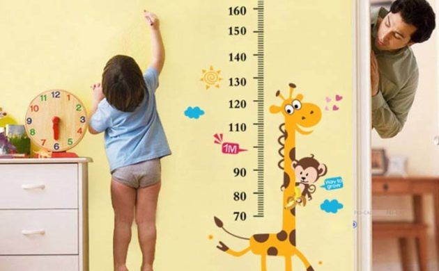 wangestaltung wandtattoo wandkalender meter | Kinderzimmer | Pinterest