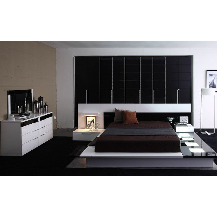 Wade Logan Sabra Platform Bedroom Set | Platform bedroom and Bedrooms