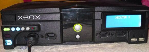 VHTF Rare Modded original Xbox with Xecuter 3 Modchip