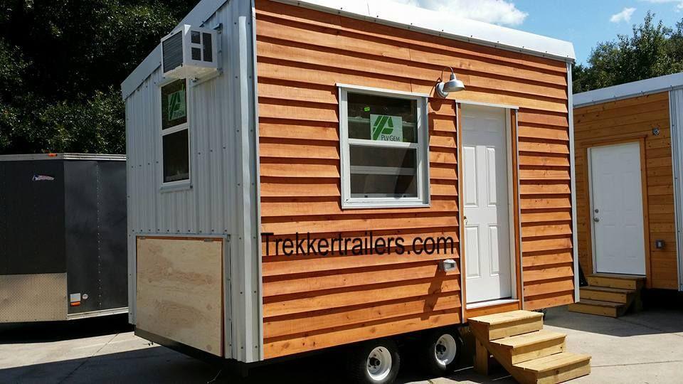 Little Cabin 14ft Trailer Trekker Trailers Com Shed To Tiny House Little Cabin Small Tiny House
