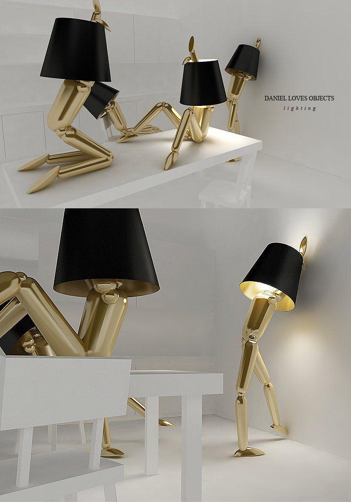 30 Unusual And Fun Lamp Designs Cool Lamps Weird Furniture Lamp Design