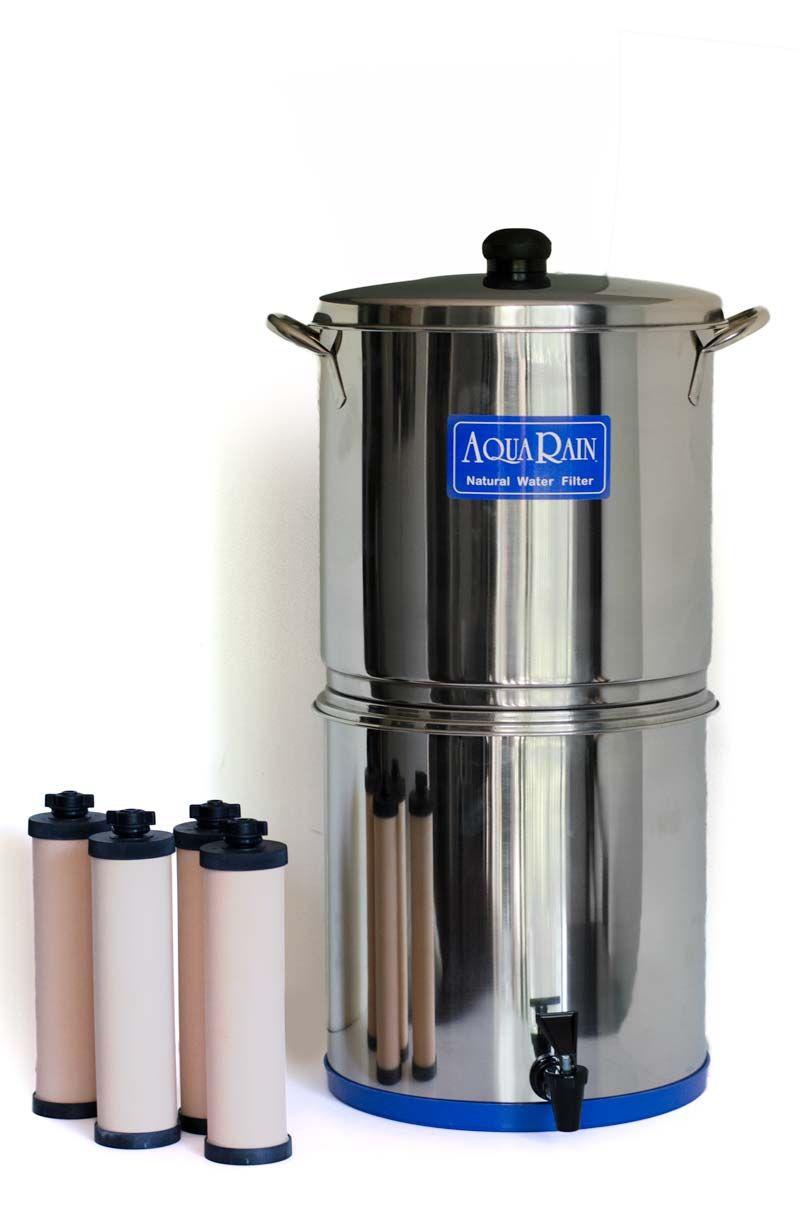AquaRain Natural Gravity Water Filter Model 404 with