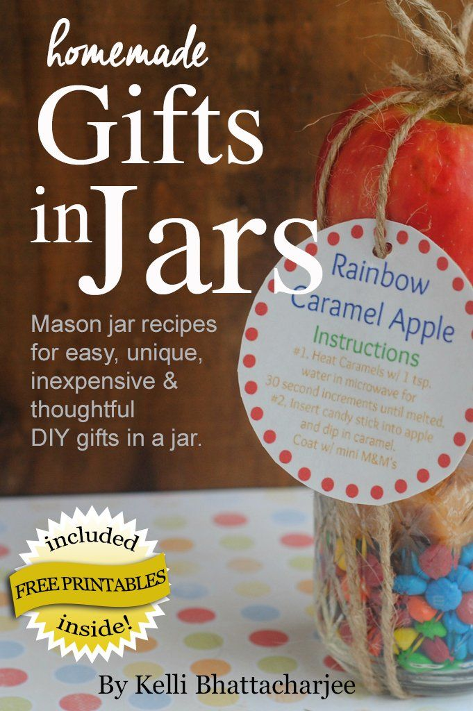 Homemade Gifts in Jars: Mason jar recipes for easy, unique, inexpensive, & thoughtful DIY gifts in a jar:Amazon:Kindle Store