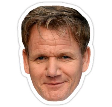 Gordon Ramsay Stickers By Mangledswan Redbubble Gordon Ramsey Gordon Ramsay Ramsey