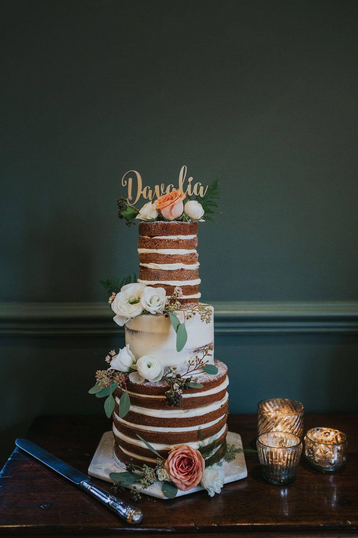 Natalia & David Wedding cake fresh flowers, Wedding