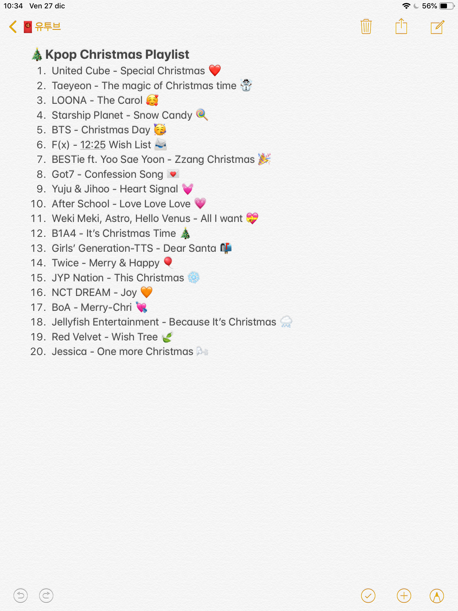 Kpop Christmas Playlist On Spotify And On Youtube Bio Quotes Christmas Playlist Playlist