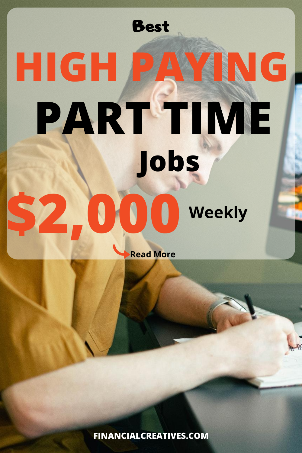 Best High Paying Part Time Jobs, $2000 Weekly