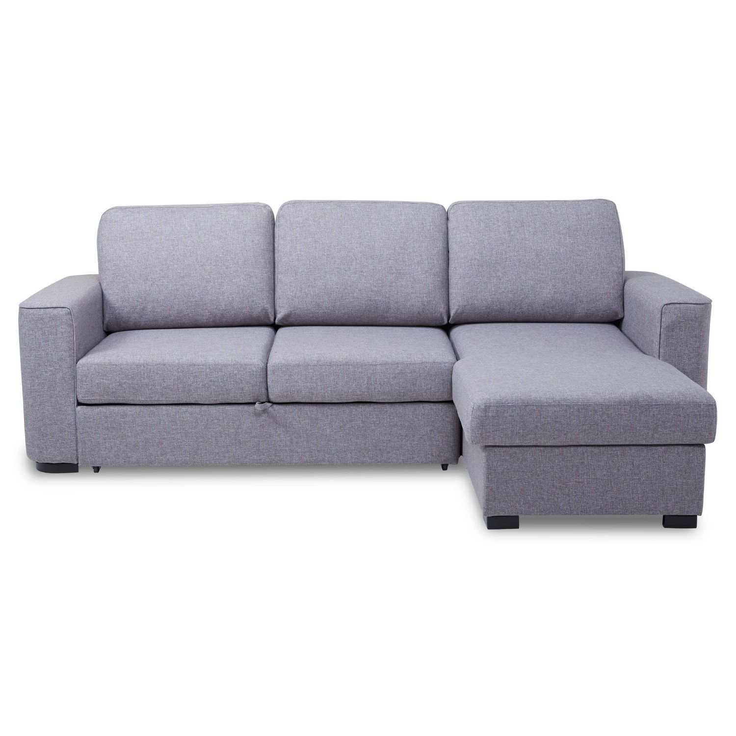 Ronny Fabric Corner Chaise Sofa Bed with Storage – Next Day ...