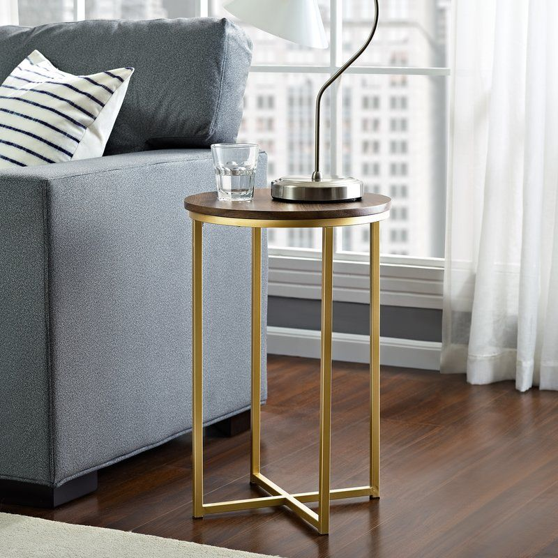 Lieberman Side Table Round Side Table Table Furniture