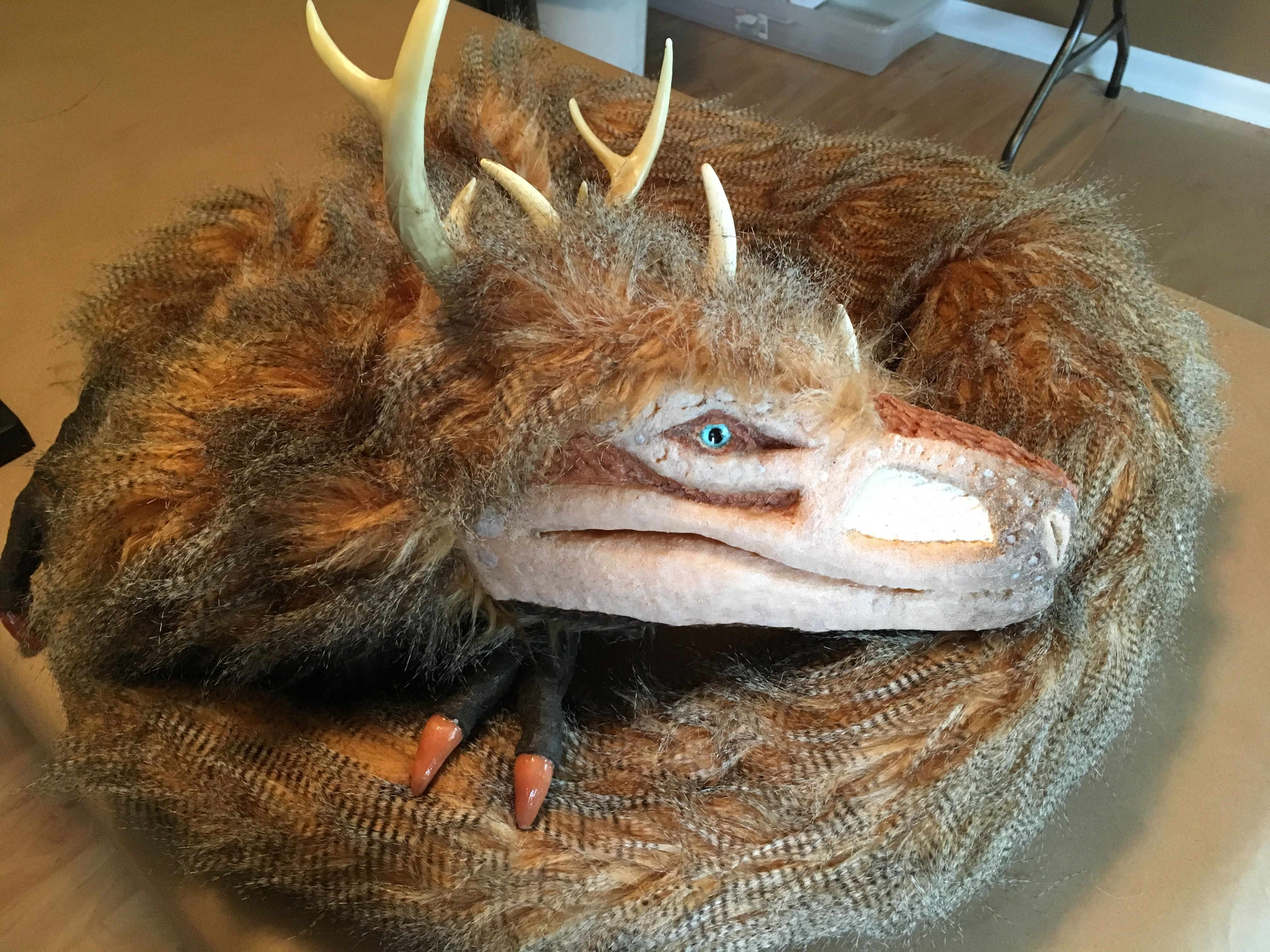 Zephyr The Great Plains Dragon By Red Thorn Creations Puppet