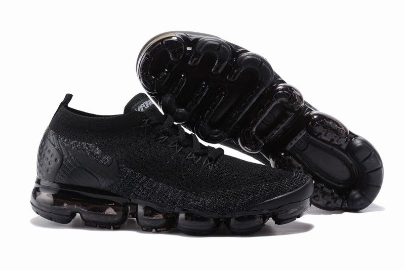 Nike Air VaporMax Flyknit 2 All Black  bd019509fe