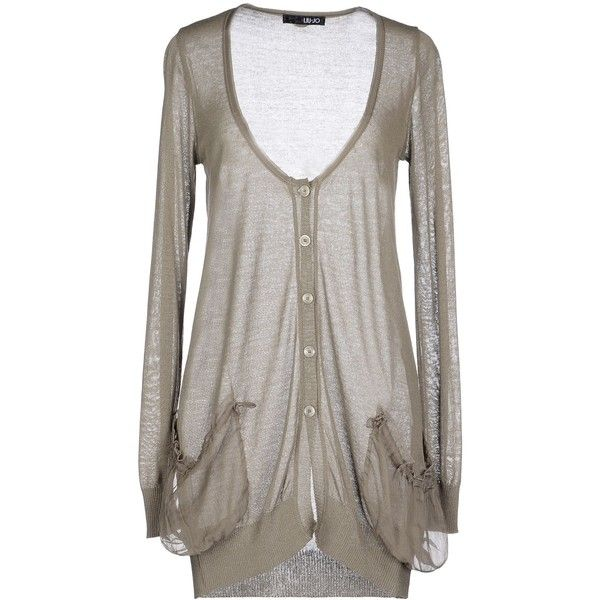 Liu •Jo Cardigan ($88) found on Polyvore featuring tops, cardigans ...