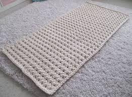 Kuvahaun tulos haulle trikookude matto lime virkattu suorakaide