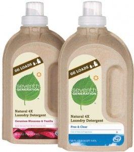 Seventh Generation Laundry Detergent Embalagens Sustentaveis