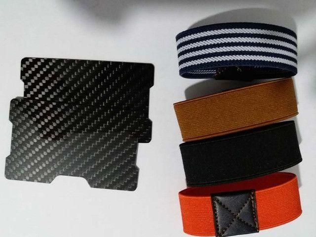 Carbon Fiber Wallet Credit Card Holder RFID blocking wallet