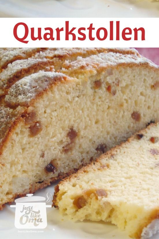 ❤ Christmas Stollen Recipe made Just like Oma ✓ # Pinterest