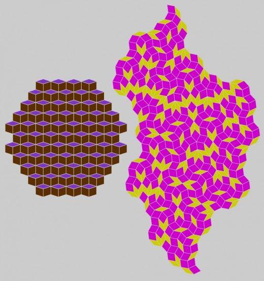 Penrose Tiled Sphere   Geometric pattern art, Penrose