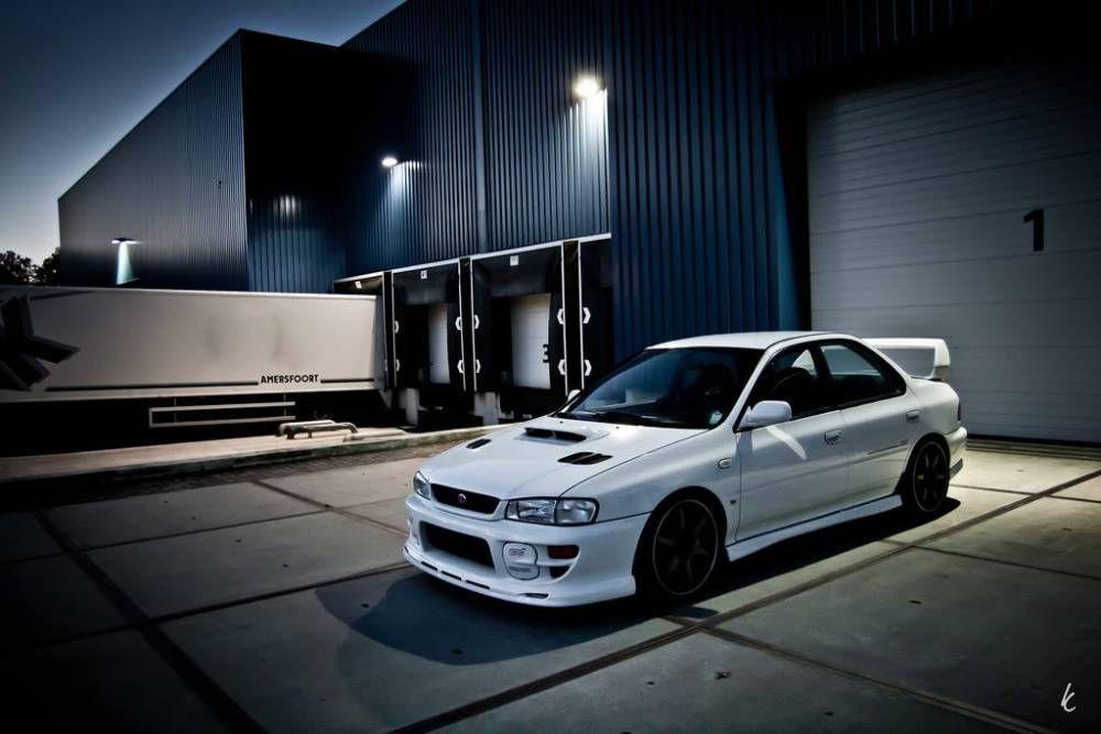 Aspen White GC8 Impreza Subaru, Subaru wrx, Subaru