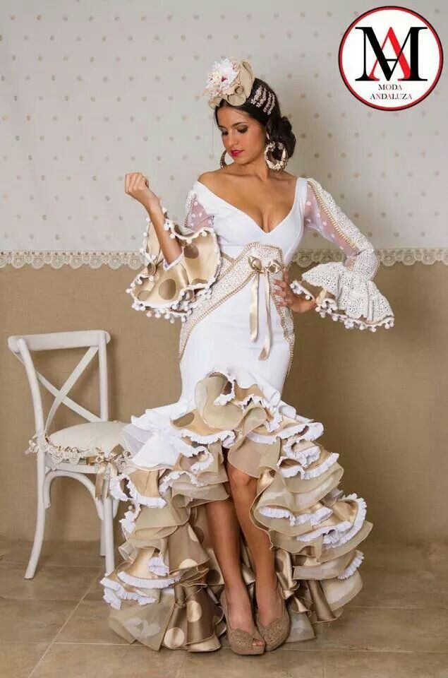 b5c69757b El abanico de Velez | 2 | Trajes de flamenco, Moda flamenca ...