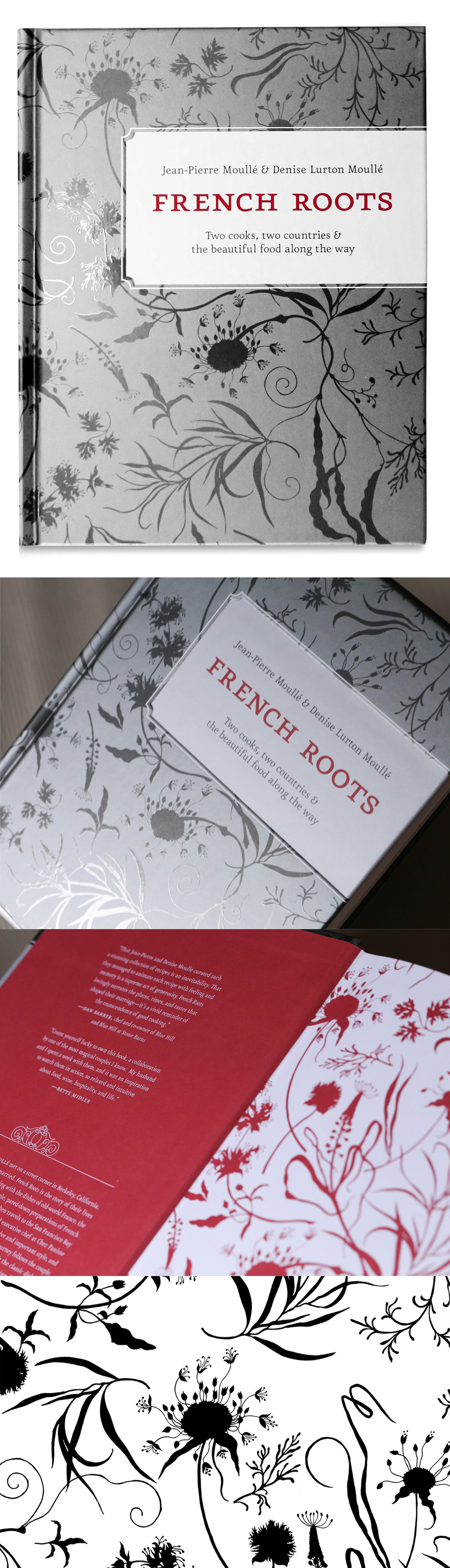 French Roots Inner Book Cover Design | Book Covers & Editorial ...