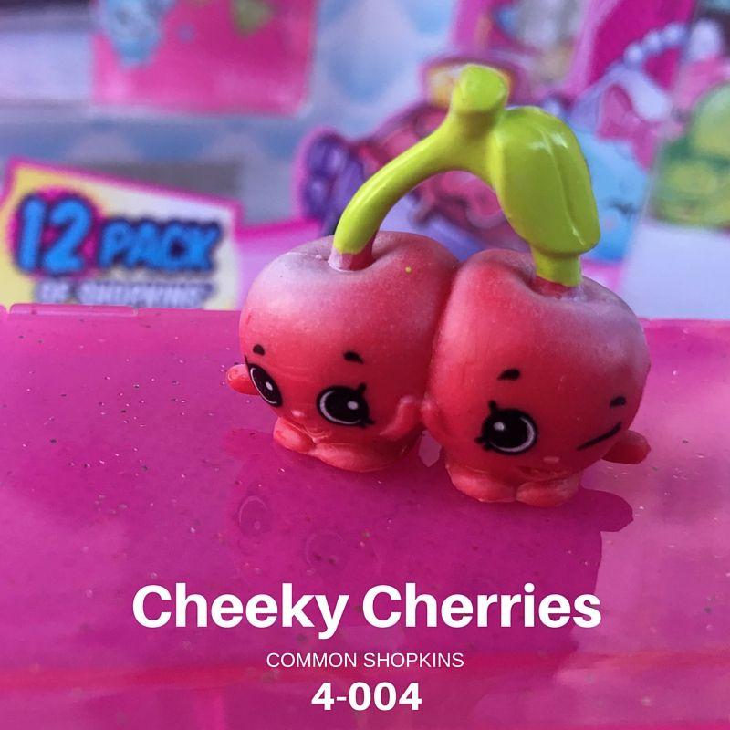 Cheeky Cherries Shopkins From Season 4 12 Pack