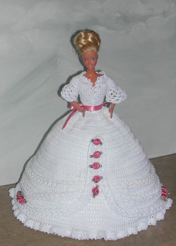 Crochet Fashion Doll Barbie Pattern 491 by JudysDollPatterns ...