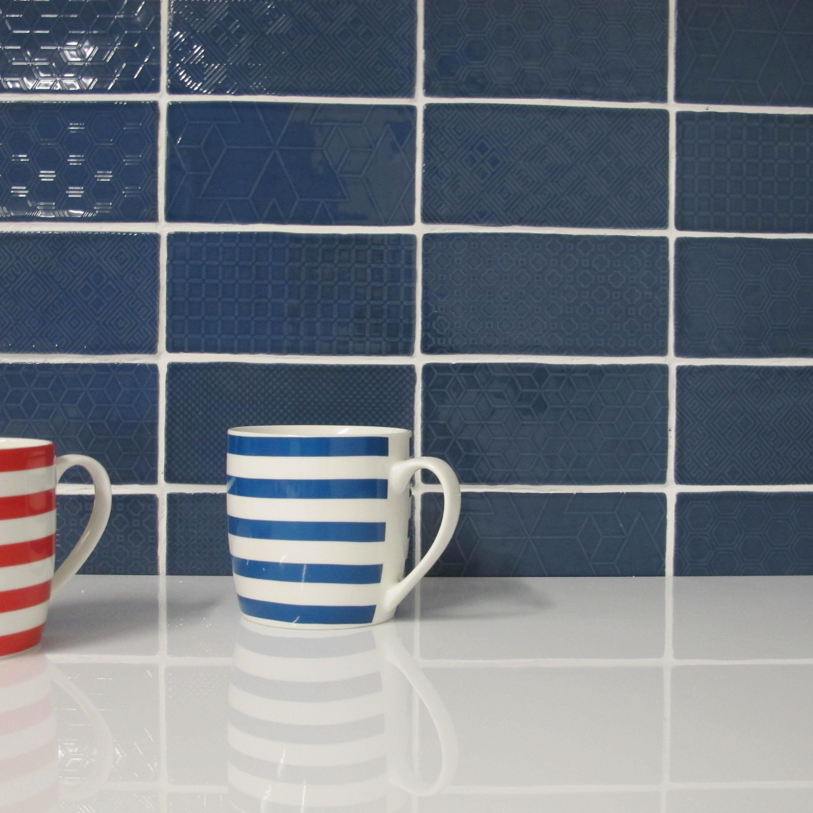 11032 Devonshire Blue jeans motif | Devonshire | Pinterest | Tile ...
