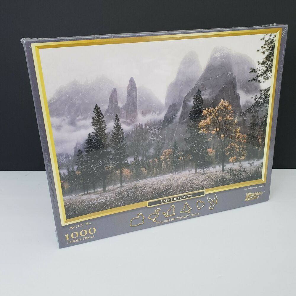 Cathedral Snow 1000-Piece Puzzle