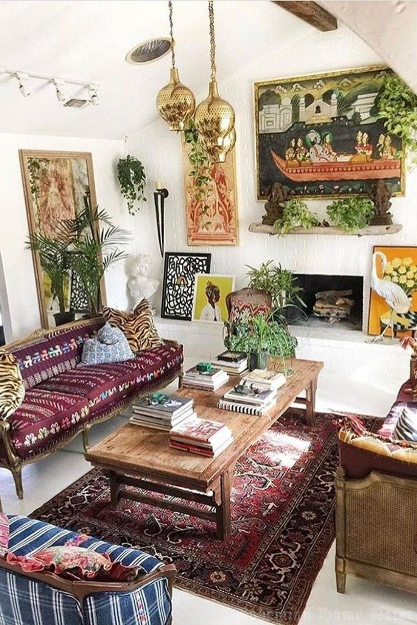 5 Romantic Bohemian Home Decor Ideas