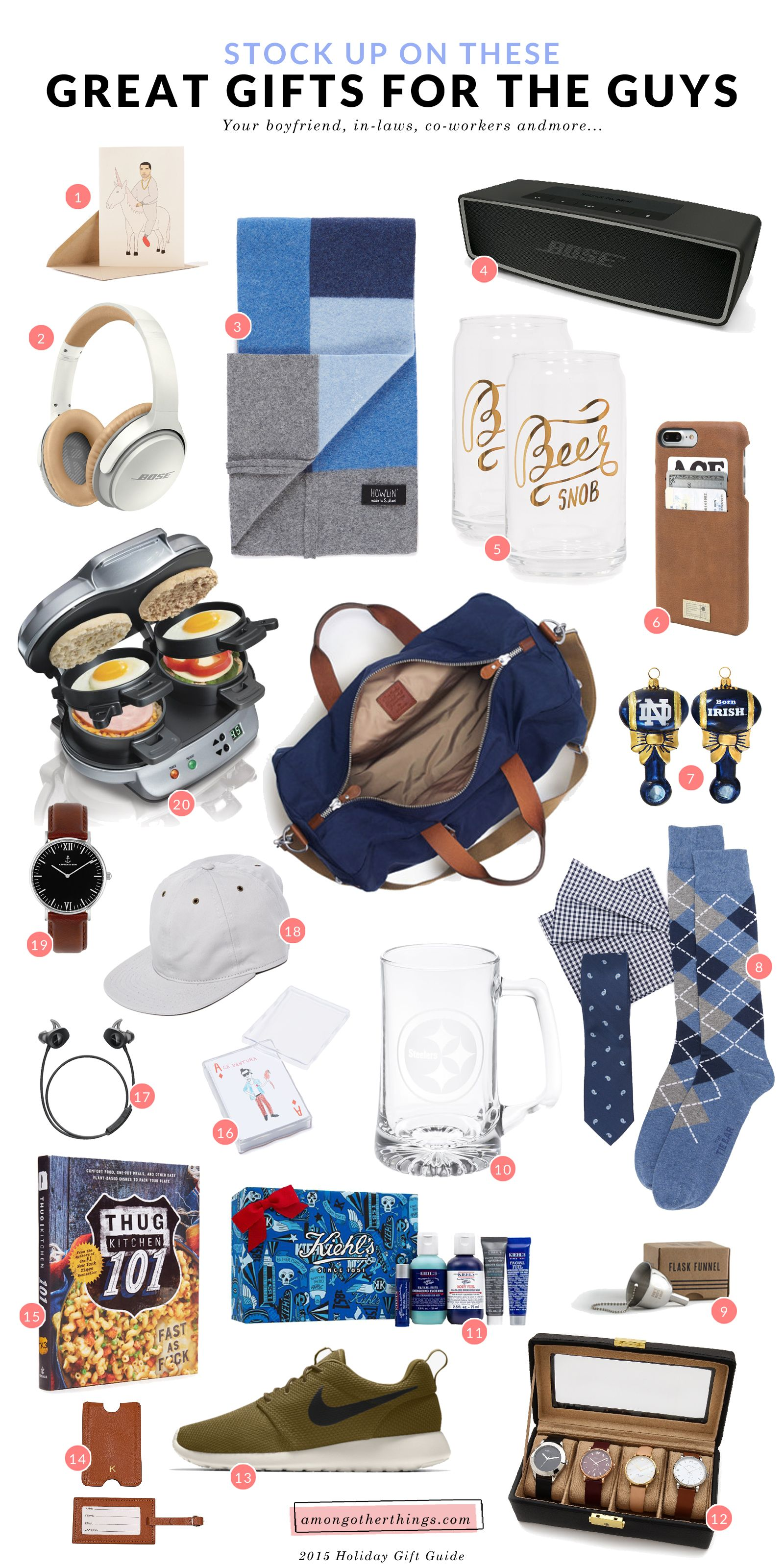 20 Affordable Gift Ideas For Your Brother Boyfriend Dad In Laws And Co Workers Son In Law Gifts Gifts For Brother Gifts For Male Coworkers