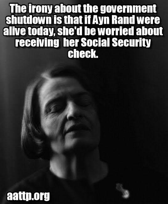 e0099c351b78eebe3f5b206a978b308f 1) it is yet to be proven that ayn rand took social security, and