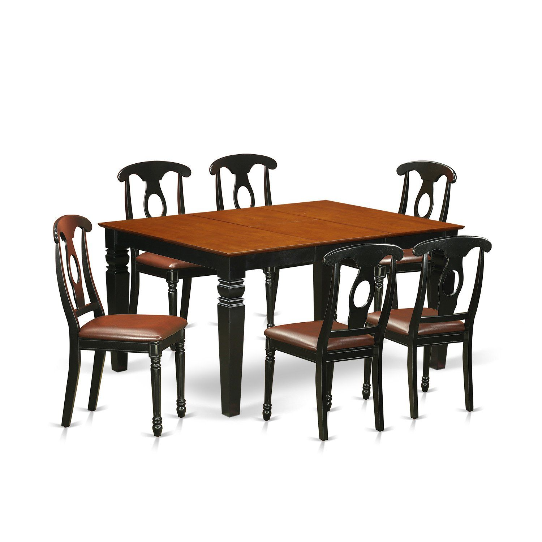 Belger 7 Piece Dining Set 7 Piece Dining Set Wood Dining Room Chairs Wood Dining Room Set