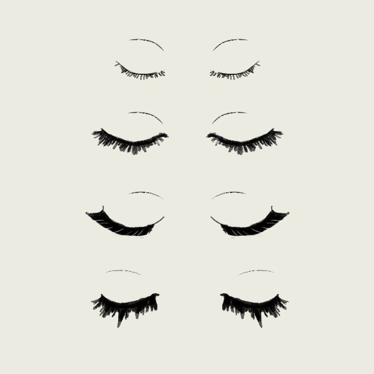 The Beginners Guide To Eyelash Extensions ALL ABOUT BLACK WHITE Eyelash Extensions Lash