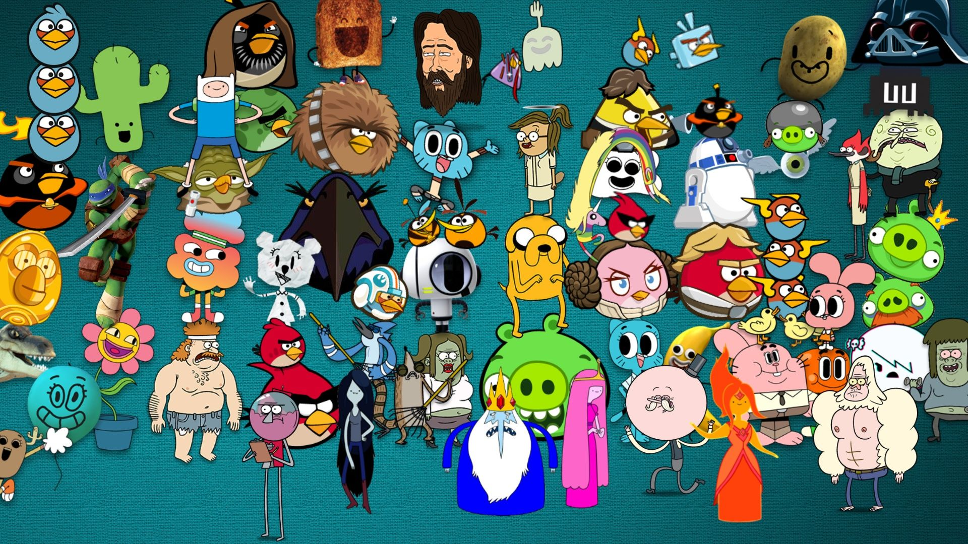 Adventure time angry birds wallpaper adventure time pinterest adventure time angry birds wallpaper voltagebd Images