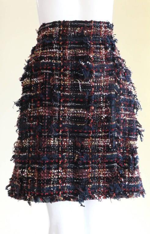 CHANEL PARIS Fantasy tweed skirt 3