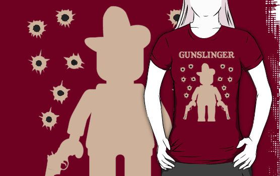 """""""GUNSLINGER by Customize My Minifig"""" T-Shirts & Hoodies by ChilleeW 