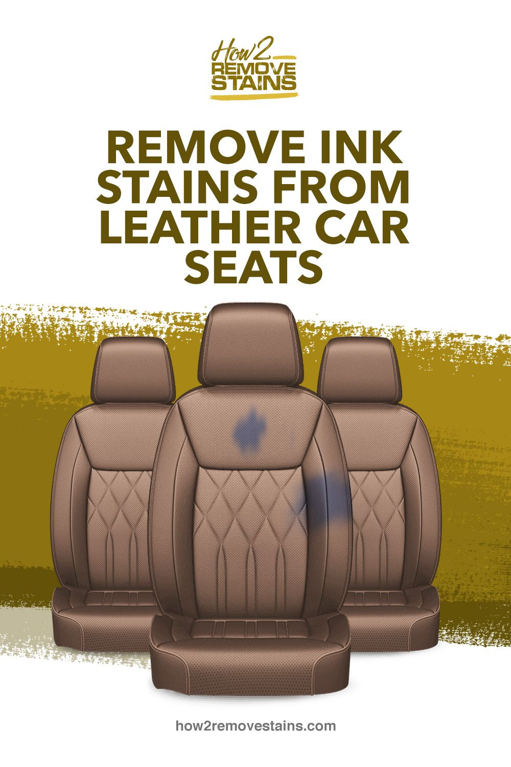 How to remove ink stains from leather car seats [ Detailed